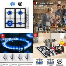Gas Cooktop  Gasland Chef Gh60Ssc 24  Built In Gas Stove Top  Stainless Steel L