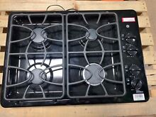 GE JGP333DETBB 30  Built in Gas Cooktop 4 Burner Black  985Q