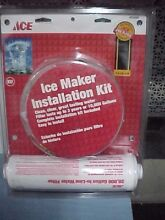 Inline Water Filter Kit for Refrigerators and Ice Makers  AKF 1  ACE 4203048