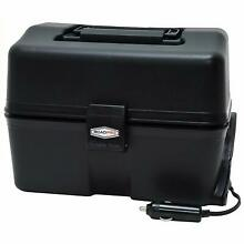 RoadPro 12Volt Portable Stove Food Warmer Box Camping Lunch Oven Electric Black