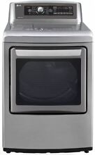 LG SteamDryer Series 27  Graphite Steel 7 3 cu  ft  Electric Dryer DLEX5780VE