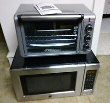 Black and Decker Convection Oven and Kenmore Full Size Micowave