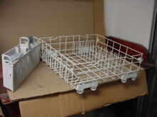 Frigidaire Dishwasher Lower Rack Rust Free Part   8268708