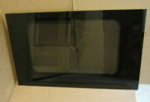 GE Wall Oven  Outer Door Glass  Black  Part WB57T10091