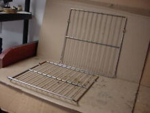GE Wall Oven Rack Lot of 2 Part   WB48X0218