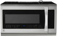 Kenmore Elite Kenmore Elite 87583 2 2 cu  ft  Over the Range Microwave Oven   St