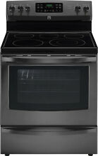 Kenmore Kenmore 96197 5 4 cu  ft  Electric Range w  Convection Oven   Black