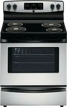 Kenmore Kenmore 92563 5 3 cu  ft  Self Clean Electric Coil Range   Stainless Ste
