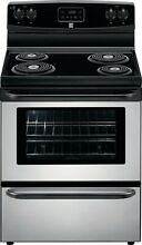 Kenmore Kenmore 92553 4 9 cu  ft  Electric Coil Range   Stainless Steel