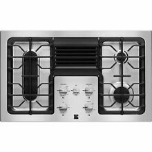 Kenmore Elite Kenmore Elite 31123 36  Downdraft Gas Cooktop  Stainless Steel