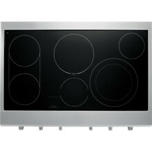 Kenmore Pro Kenmore Pro 40403 36  Slide In Electric Cooktop   Stainless Steel