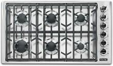 Viking Professional 5 Series VGSU53616BSS 36 Inch Gas Cooktop