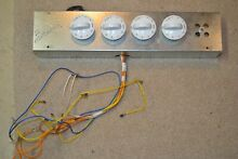 Frigidaire FEC30S6A Electric Cooktop Ignition Switches White Knobs Tested WORKS