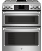 GE Cafe CHS995SELSS 30  Slide In Stainless Steel Induction and Convection Double