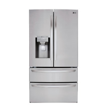 LG 36  Smart Wi Fi Enabled 4 Door French Door Refrigerator LMXS28626S