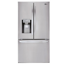 LG 36  Bottom Freezer French Door Refrigerator Stainless Steel LFXS26973S