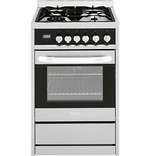 Haier HCR2250ADS 24  2 0 Cu  Ft  Dual Fuel Free Standing Range