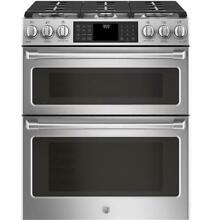 GE Caf  Series 30  Slide In CGS995SELSS Gas Double Oven with Convection Range
