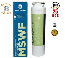 1 2 3 4 6 25 Pack Fits GE MSWF Water Filter SmartWater Refrigerator Replacement