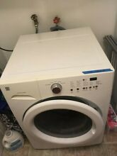 Kenmore front load washer and Amana electric vented dryer