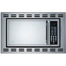 Summit 19 Inch 0 9 Cu  Ft  Built In Microwave Oven   Stainless Steel