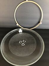Kenmore Microwave Replacement 12 5 8  Glass Tray Ring Assembly Turntable Shaft