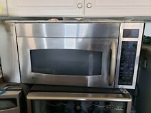 Ge profile Microwave Hood 30   Stainless Steel