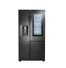 LG 36  Counter Depth Side by Side Refrigerator Black Stainless Steel LSXC22396D