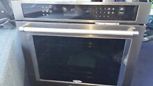KitchenAid KOSE500EBS 30  Black Stainless Single Electric Wall Oven