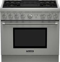 Thermador PRG364NLH 36 Inch Pro Harmony  Standard Depth Gas Range