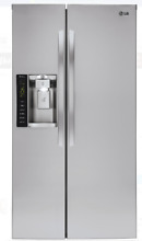 LG 36 In Stainless Steel Counter Depth Side by Side Refrigerator LSXC22426S