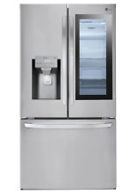 LG Smart Refrigerator   InstaView   Door in Door   Bottom Freezer LFXS28596S