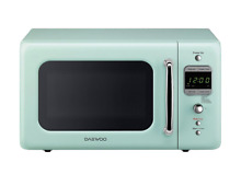 Retro Microwave Dorm Small Oven RV Countertop 7 Mini Camper Green Kitchen 700W