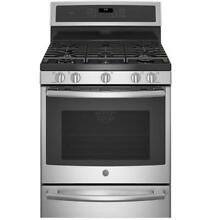 GE Profile Series 30  PGB940SEJSS Gas Convection Range with Warming Drawer