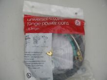 15 GENERAL ELECTRIC GE UNIVERSAL RANGE 4 WIRE POWER CORD CABLE 4 FT 40 AMP