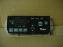 Whirlpool Range Control Board Worn Overlay Part   6610394