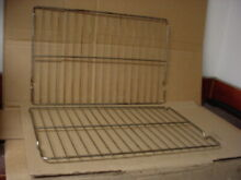 Whirlpool Range Oven Rack Moderate Stains Lot of 2 Part   3195710