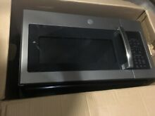 GE JVM6175EKES 1 7 Cu Ft  1000W Over the Range Microwave Oven  Slate