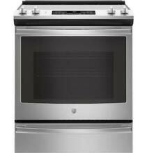 GE JS760SLSS Stainless Steel 30  Slide In Electric Convection Range
