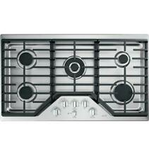 GE Cafe 36  Stainless Steel Built In Gas Cooktop CGP95362MS1