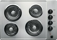 30  ELECTRIC Coil Cooktop 4 BURNER Kenmore 41303   Stainless Steel