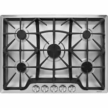 30  Gas Cooktop 5 BURNERS 18 200 BTU Rapid BOIL Kenmore 32683   Stainless Steel
