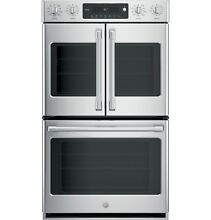 GE Cafe CT9570SLSS Double Wall Oven Self Cleaning Convection Stainless Steel