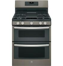 GE  JGB860EEJES 30  Slate Free Standing Gas Double Oven Convection Range