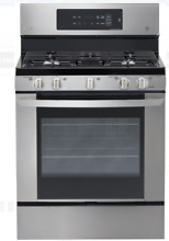 LG 30 Inch Stainless Steel Gas Range Easy Clean Mode Stainless Steel LRG3061ST