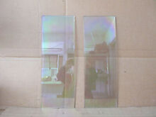 Whirlpool Range Inner Door Glass Lot of 2 Part   3186282