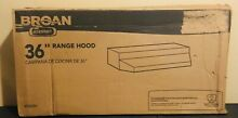 Broan 423604 ADA Capable Under Cabinet Range Hood  190 CFM 36 Inch  Stainless St