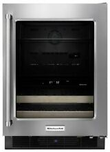 Kitchenaid KUBR204ESB 24  Beverage Center