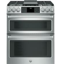GE Cafe C2S995SELSS 30  Slide in Dual Fuel Double Oven W  Convection Range