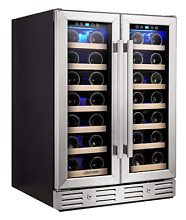 Kalamera Wine Cooler   Fit Perfectly into 24 inch Space Under Counter or   Dual